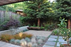 Patio Hardscape Ideas Small Yard Design, Pictures, Remodel, Decor and Ideas - page 19 Cheap Landscaping Ideas, Small Yard Landscaping, Modern Landscaping, Courtyard Landscaping, Patio Ideas, Modern Patio Design, Small Backyard Design, Backyard Ideas For Small Yards, Backyard Designs