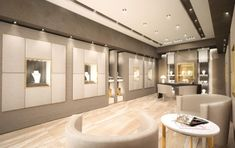Affordable Jewelry A Click Away Jewelry Store Design, Fashion Jewelry Stores, Fashion Jewellery Online, Jewelry Shop, Jewellery Showroom, Dressing Room Design, Store Interiors, Tiles Texture, False Ceiling Design