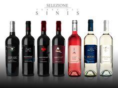 Terre del Sinis Linea vini. Studio grafica etichette Cantina della Vernaccia. © KLS