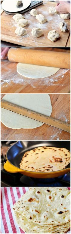 3 cups Organic, Unbleached Flour 1 teaspoon Salt ½ teaspoons Baking Powder ⅓ cups Canola Oil 1 cup Hot Water - See more at: http://www.kissrecipe.com/2013/07/healthy-homemade-tortillas.html#sthash.LSX3ZzO5.dpuf kiss recipe: Healthy Homemade Tortillas