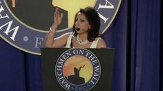 Brigitte Gabriel Speaks at 2015 Watchmen on the Wall Conference | For everyone that says religion and politics don't mix or shouldn't mix, what are you going to do about Islam in this country then? After all, Islam is an Islamofascist political movement coupled with a sick, twisted and totally depraved religious ideology of the worst kind.