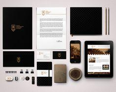 Museum of Archeology and History in Elblag Branding by Sebastian Bednarek http://serifsandsans.com/branding/archeology-museum-branding