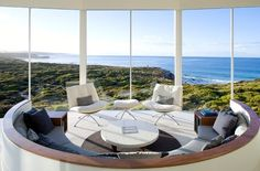 """Top 20 World Most Beautiful Living Spaces The Southern Ocean Lodge on Kangaroo Island in Australia as featured in Sherlock, home to Magnussen in """"His Last Vow"""" Chalet Zermatt, Ski Chalet, Kangaroo Island, Best Vacation Spots, Design Case, Best Hotels, Amazing Hotels, Unusual Hotels, Nice View"""