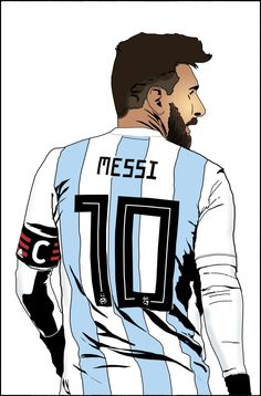 The mighty one is again surrounded by some of the world's best players. #worldcup #worldcup2018 #fifaworldcup #lionelmessi