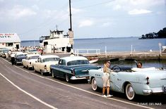 1950s American Automobile Culture – 50 Color Photos of Classic Buicks on the Street in the 1950s ~ vintage everyday