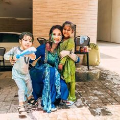 The best Holi with family!! Nothing pretty or delicate about it. Nisha, Asher and Noah unleashed and did what they are suppose to! Just had… Holi Celebration, Beginning Of Spring, Hindu Festivals, Sunnies, Photo Galleries, Sari, Celebrities, Gallery, Pretty