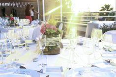 Número de mesa. Modelo Confetti. En un clip Boda. wedding