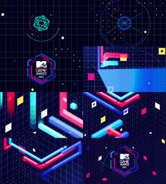 MTV Game Awards 2011 by Camilo Barria Royer, via Behance