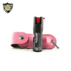 PINK - POLICE STRENGTH STREETWISE 18 PEPPER SPRAY 1/2 OZ