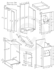 Bird House Plans 541769030178018447 - Barred Owl Nest Box Plans – Source by audreylige Bird House Plans, Bird House Kits, Owl House, Woodworking For Kids, Woodworking Projects Diy, Woodworking Plans, Woodworking Supplies, Custom Woodworking, Owl Nest Box