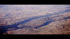 Aerial View of Manhattan (New York)