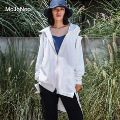 MOJONOO 2017 Autumn Winter Women Hoodies Sweatshirts With Zipper Pocket Casual Irregular Loose Long Hoodies Hooded Design Holes ** AliExpress Affiliate's buyable pin. Click the VISIT button to find out more on www.aliexpress.com