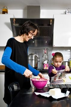 "Parenting: Why French Parents are Superior by Pamela Druckerman, wsj: 1. Children should say hello, goodbye, thank you and please. It helps them to learn that they aren't the only ones with feelings and needs. 2. When they misbehave, give them the ""big eyes""—a stern look of admonishment. 3. Allow only one snack a day. In France, it's at 4 or 4:30. Remind them (and yourself) who's the boss. 4. French parents say, ""It's me who decides."" 5. Don't be afraid to say ""no."" Kids have to learn how to…"