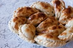 empanadas al horno - must learn how to prepare these.