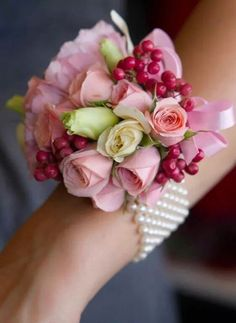 Ipv een bruidsboeket