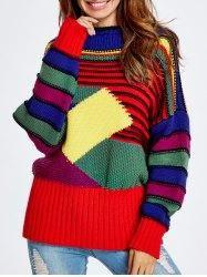 #Gamiss - #Gamiss Striped Sweater - AdoreWe.com