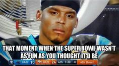 And he thought the super bowl was going to be fun! LOL!