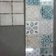 Tiles to toilet