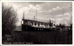 Ansichtskarte / Postkarte Langweer Friesland, Hotelschip De Alve Marren, Hausboot | akpool.de