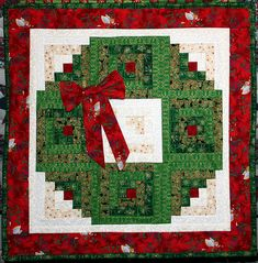 Christmas Wreath | Log Cabin Christmas Wreath | Laurie_Mike | Flickr