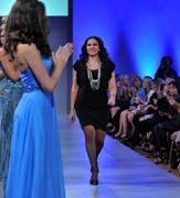 Mireille Dagher Salazar dèfilé couture NY #lasemainedelamode #robe #femme #printempsete2012 # mode #mireilledagher