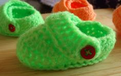 Craft Cove Blog: Free Crochet Baby Crocs Pattern - Updated