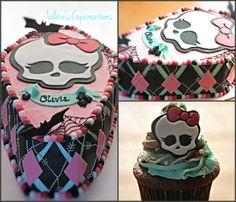 Monster High Inspired Cake