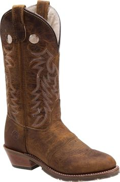 I HAVE THESE BOOTS OMG. They're Double H boots and they are the most comfortable and reliable boots you'll ever buy