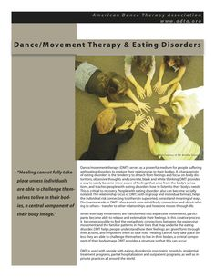 Dance/Movement Therapy & Eating Disorders   #EatingDisorderTreatment