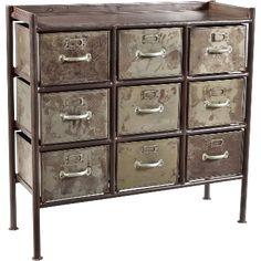 Kommode i jern fra Trademark living - Til levering nu! Tidy Up, Declutter, Industrial Style, Filing Cabinet, Drawers, Dresser, Storage, Furniture, Design