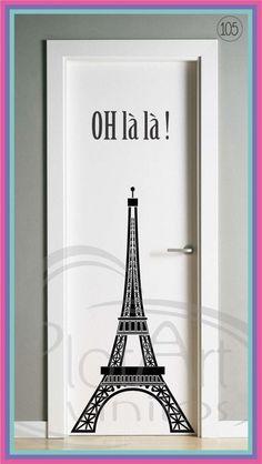 Paris Room Decor, Paris Rooms, Paris Bedroom, Paris Theme, Cute Bedroom Ideas, Room Ideas Bedroom, Bedroom Themes, Home Decor Bedroom, Art Wall Kids