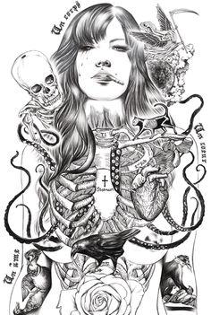 Addiction by Ise Ananphada / illustration