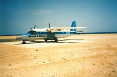 Exploring Somalia: Tales From The Horn Of Africa - The Dornier 228 supply plane from Mogadishu. One of the great unexplored frontiers for the oil and gas industry remains the horn of Africa, and specifically,... - Oilpro.com