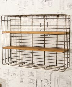 Another great find on #zulily! Wire Wall Rack #zulilyfinds