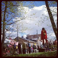 #arabiankatufestivaalit #streetfestival #Helsinki #walkingonthewire #teräsmies #Superman.