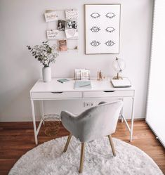 What's the first think you loved in this place ! Study Room Decor, Study Room Design, Room Decor Bedroom, Home Office Design, Home Office Decor, Home Decor, Study Table Designs, Lavatory Design, Home And Deco