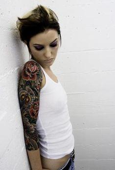 tattoo – Blume Tätowierungen. vol 8711 | Fashion & Bilder