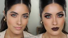 Day to Night Makeup with the Becca Ombre Rouge Eye Palette   Melissa Ala...