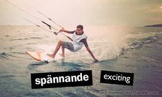 Swedish Adjectives: spännande - exciting