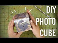 (2) How to Make Folding Photo Cube : DIY : Great gift idea! - YouTube