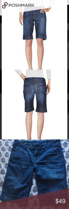 Citizens of Humanity Bermuda Shorts Blue denim with some stretch.  Great condition! Size 30. Citizens of Humanity Shorts Bermudas