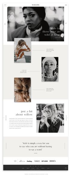 How to Customize a template for an Interior Design website. Stylish, soohisticated, and chic website templates and website themes.