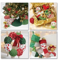 Ornaments, Wreath, Tree Skirt and Stocking
