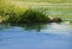 Abe Toshiyuki Watercolor on waterford, 30x42cm, 2014