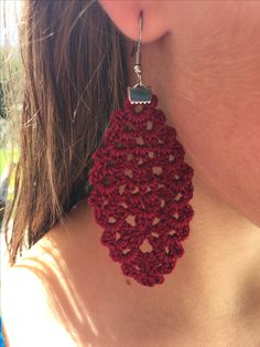 Crochet Jewelry made with love and so much more! Crochet Earrings, My Etsy Shop, Etsy Seller, Jewelry Making, Create, Atelier, Jewellery Making, Make Jewelry