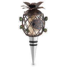 Pineapple Cork Cage� Bottle Stopper
