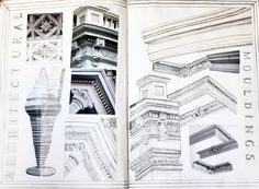 Emma's Sketchbook: Pattern & Texture » parisbyfriday.com | #drawing #architecture