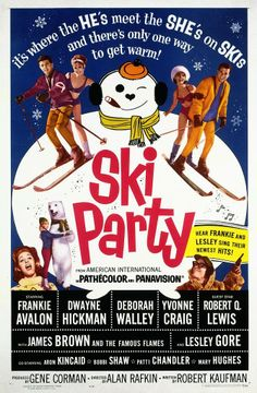 Ski Party - It's Where the He's Meet the She's on Skis and There's Only One Way to Get Warm!