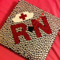 R.N. Graduation Cap Idea