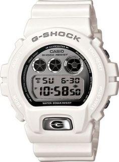 02201d112689 Casio G-SHOCK VINTAGE WHITE SILVER MIRROR DIAL DW6900MR-7 Moda Hombre
